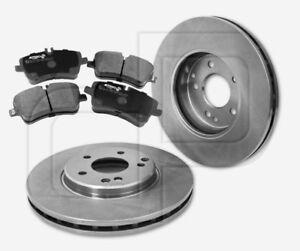 2-Bremsscheiben-und-4-Bremsbelaege-MERCEDES-SLK-280-und-300-R171-vorne-300-mm