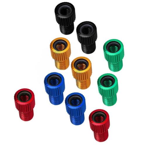 Details about  /10pcs Presta to Schrader Valve Adapter Converter Bicyle Tire Tube