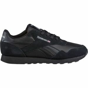 Reebok Men s Royal Classic Nylon Running Shoes Shoe in Black in ... 7901d181f