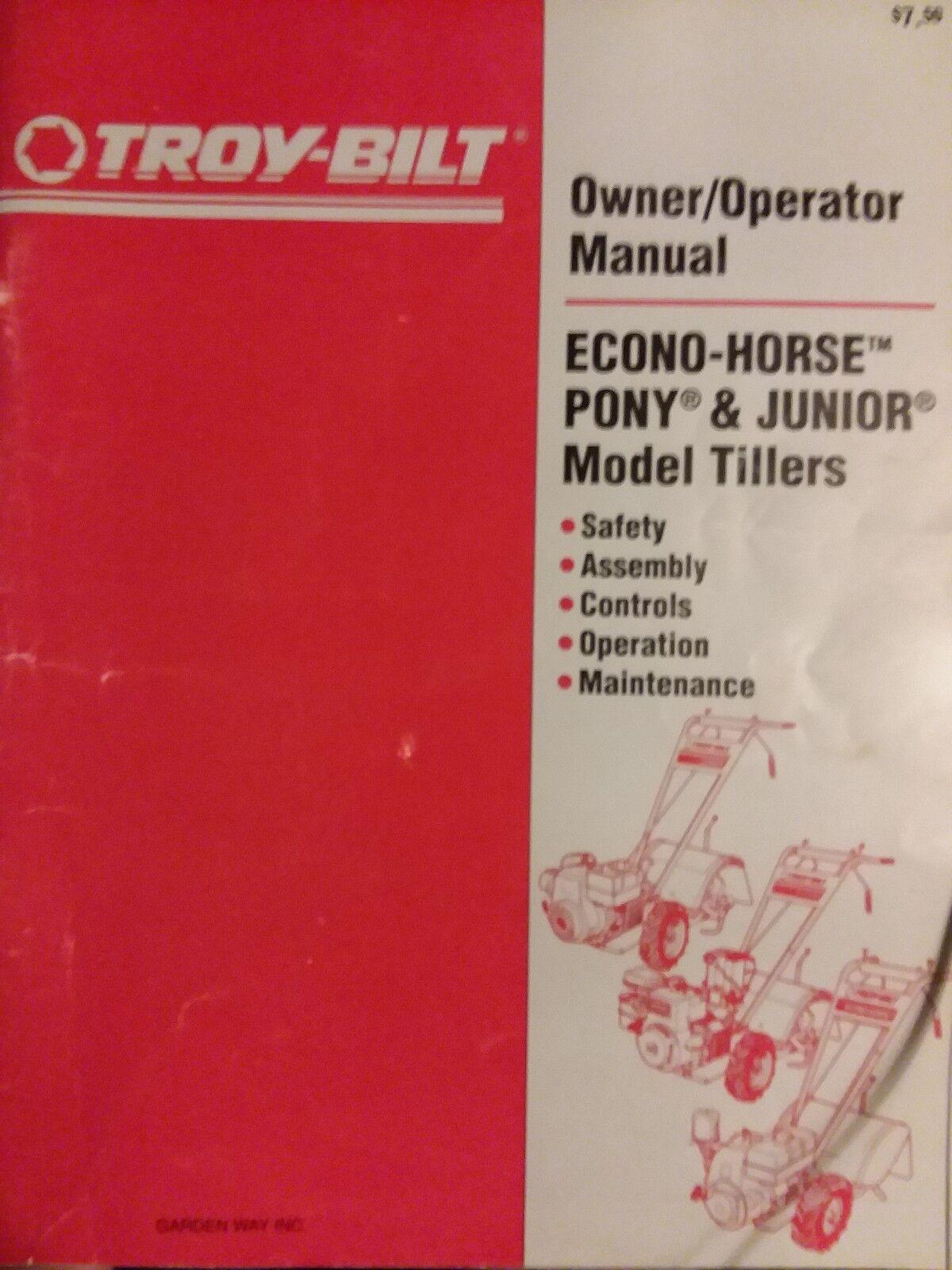Troy-bilt 7hp pony 12211 manuals.