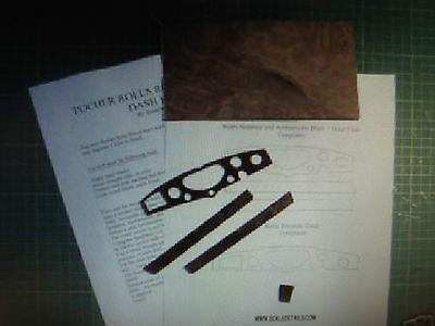 Pocher 1/8 Rolls Royce Burl Wood Dash Kit Torpedo Sedanca Ambassador All Kits
