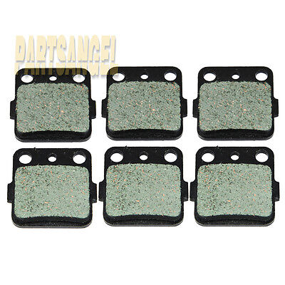 Front Rear Sintered Brake Pads For Honda TRX 250X 300EX 400EX Free Shipping 3SET