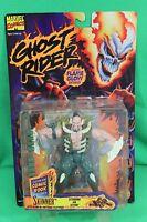 Ghost Rider Glow In The Dark Skinner Action Figure Toy Biz 1995 On Card