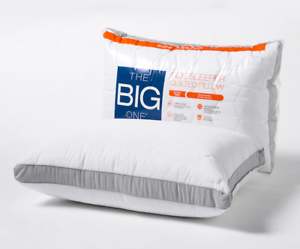 Overfilled with extra firm support The Big One Quilted Side Sleeper Bed Pillow
