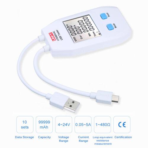 USB Power Meter LCD USB Tester Detector Voltmeter Ammeter Digital Power G9W2