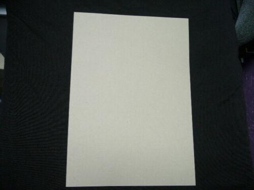 40 X hojas de papel de azúcar A4 marrón claro 140 GSM 297 X 210 mm