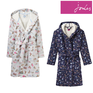b380916bbe Image is loading Joules-Idlewhile-Jersey-Dressing-Gown-Z-FREE-UK-