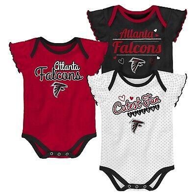 info for cbdd2 d57db NWOT Atlanta Falcons Girls Infant Bodysuit Onesie Baby Creeper Romper  Gerber | eBay