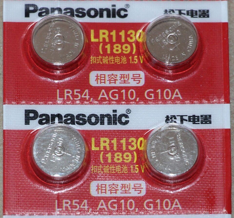 LR1130, knapbatteri, Panasonic