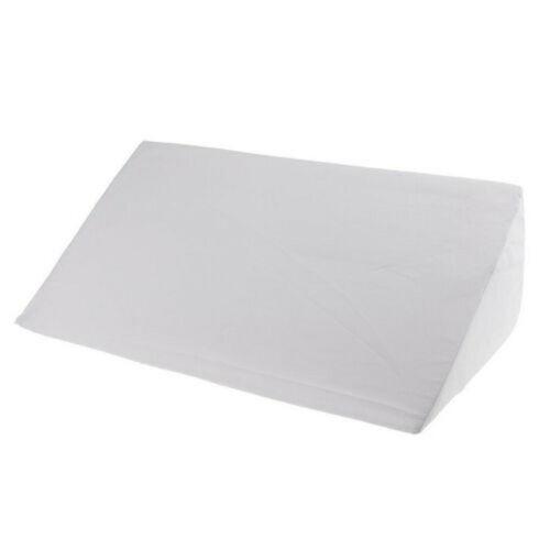 Memory Foam Bed Wedge Pillow Leg Elevation Back Lumbar Support Cushions Comfort