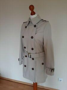half off 1ff62 f29b0 Details zu GIL BRET Trenchcoat 36, 38, S, M beige wie neu, Mantel Jacke