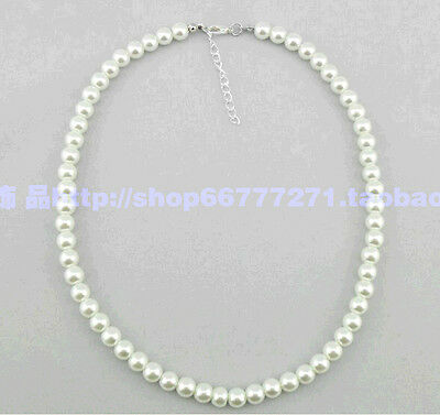 Women summer fashion jewelry charm Colorful gorgeous pearl clavicle necklace