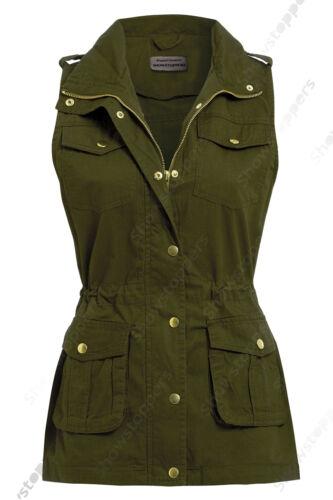 8 Manches Pour Fashion 10 Neuf Utilitaire 12 Sans 16 Size Gilet Veste 14 Femmes qUwddtxAz