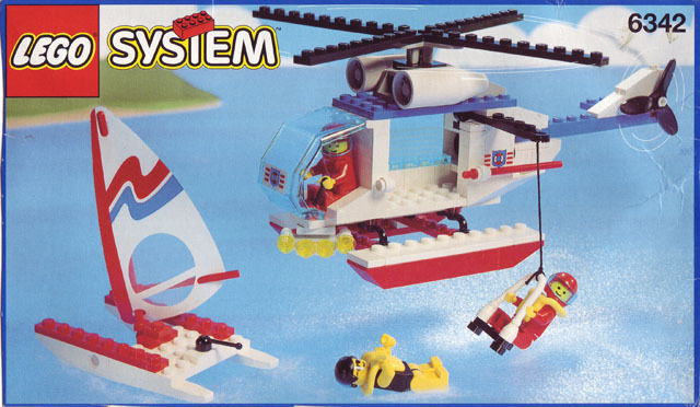 NEW Lego Classic Town 6342 Beach Rescue Chopper Nuovo SEALED