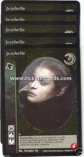 Jezebelle x5 Gangrel GE VTES Jyhad