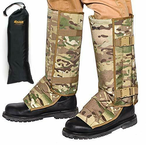 Snake Gaiters  with Storage Bag - Snake Bite Predection for Lower Legs - Camo  there are more brands of high-quality goods