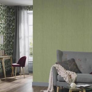 Details About Green Grasscloth Effect Wallpaper Paste The Wall Vinyl Bamboo Design 6309 36