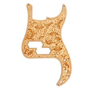 Maple Pickguard Scratch Plate Fits   PB Guitar Precision/P Bass Guitar