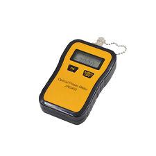 Mini Fiber Optic Power Meter Tool Optical Tester Scfcst Adapters Portable