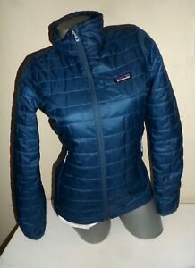 Patagonia Xs Primaloft Thermol Quilted Sweater Jacket Teal