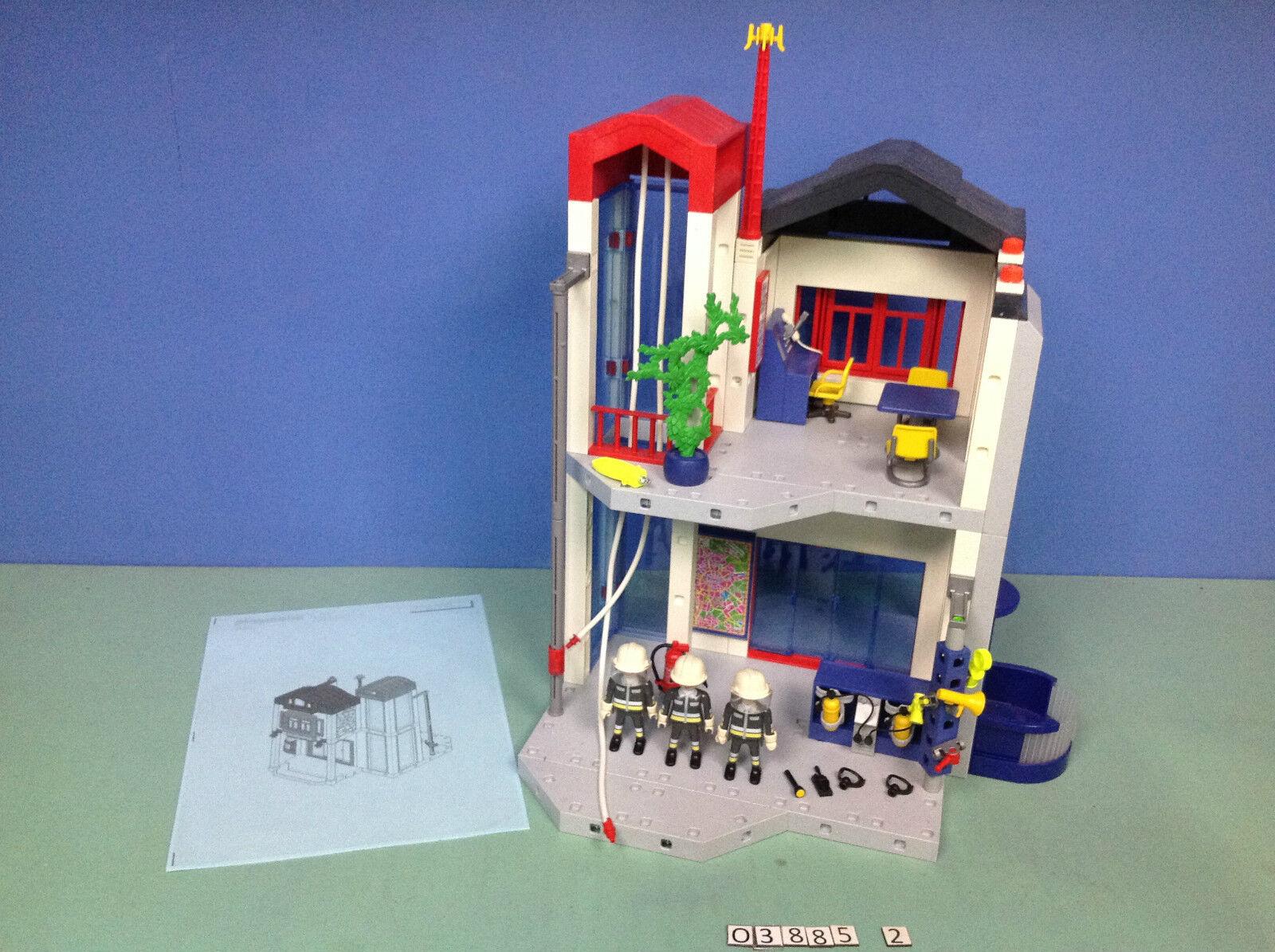 (O3885.2) playmobil Caserne de pompiers centre d'entraînement  ref 3885  scegli il tuo preferito