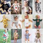 Toddler Newborn Baby Boy Girl Cotton Romper Bodysuit Jumpsuit Outfit Clothes lot