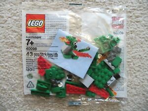 LEGO-Monthly-Mini-Build-Rare-40098-Dragon-May-14-New-amp-Sealed