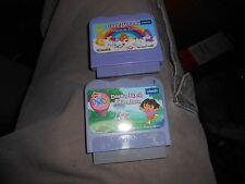 Vtech V.Smile Lot of 2 Learning Game Cartridges Dora the Explorer + Care Bears