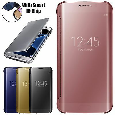 Slim Mirror Armour Shockproof Case Cover For Samsung Galaxy S7 Edge