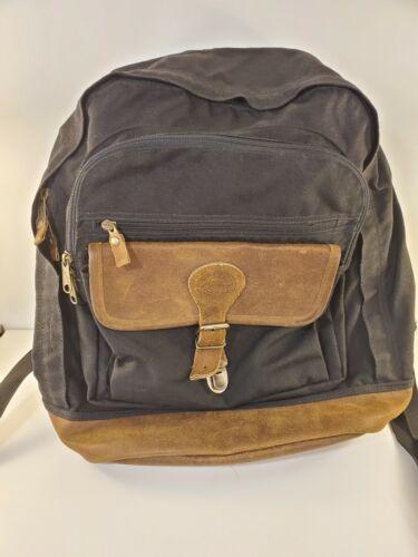 70s Eddie Bauer Rucksack Daypack Brown Cordura Backpack