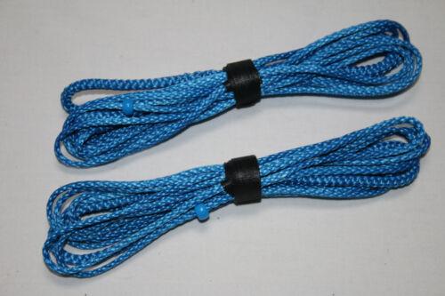 Blue Hammock Suspension Amsteel Blue -USA 7ft Ultralight Whoopie Slings