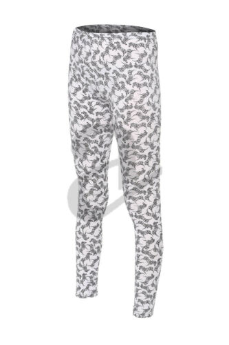 Women/'s Girls Kids  Zebra Print Pattern Stretch Full Long Ladies Leggings Small