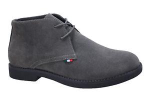 cordones Hombre Zapatos con Nuevo Gris de terciopelo Casual Diamante invierno Calzado 5q5Irwfz