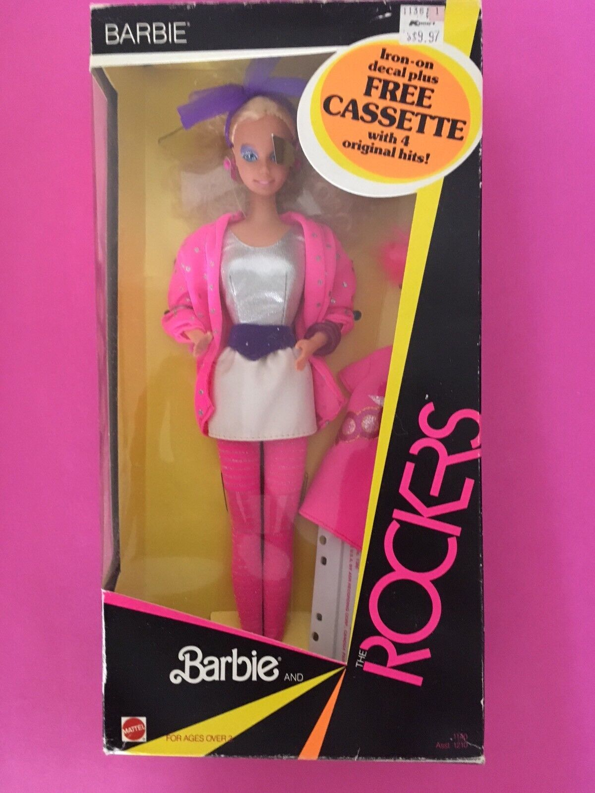 BARBIE and the ROCKERS NRFB 1985