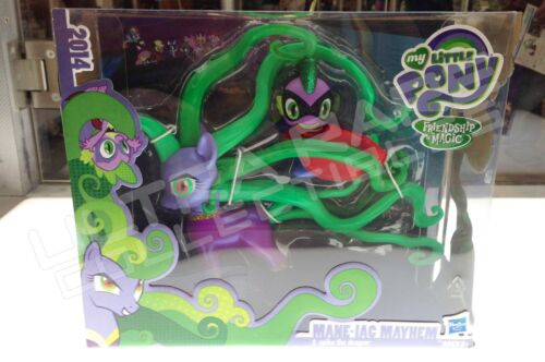 MANE-IAC MAYHEM /& SPIKE THE DRAGON SDCC 2014 MY LITTLE PONY