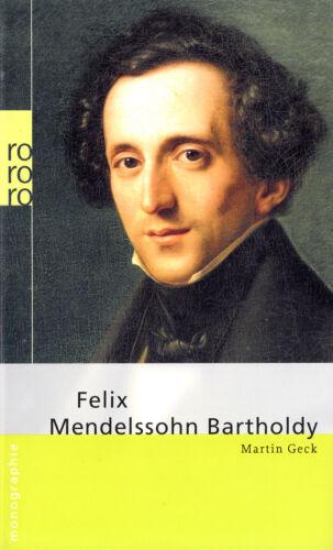 1 von 1 - ro- 709 GECK : FELIX MENDELSSOHN BARTHOLDY    rowohlts monographien a