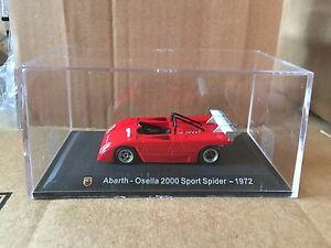 DIE-CAST-034-ABARTH-OSELLA-2000-SPORT-SPIDER-1972-034-TECA-BOX-2-SCALA-1-43