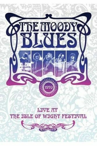 THE MOODY BLUES Live At The Isle Of Wight 1970 Threshold Of A Dream DVD NEW NTSC