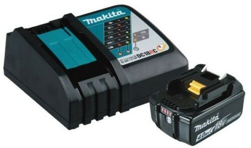 Makita RAPID CHARGER WITH LIION BATTERY 18V 4.0Ah Fuel Gauge Japanese Brand