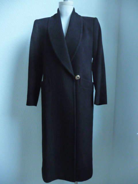 I. Magnin  Abrigo Negro Pure Cashmere  costo real