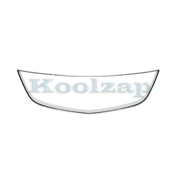 13-15 ILX Front Grille Trim Grill Surround Molding Chrome