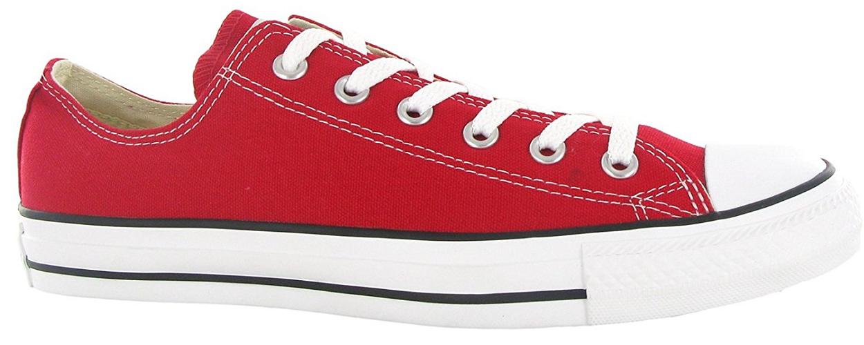 Converse Chuck Taylor All Star Chucks CT OX Low Sneaker Turnschuhe rot M9696 WOW