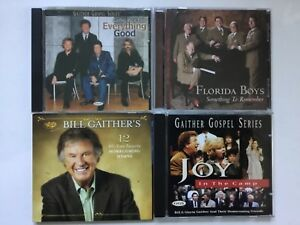 Gaither-Homecoming-4-CDs-Joy-in-the-Camp-12-all-time-favorite-hymns-2-more-NM