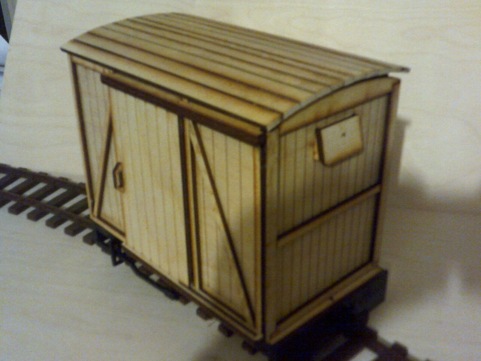 SEVEN EIGHTH SCALE BOX VAN