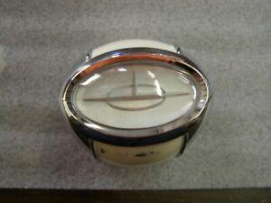 NOS-OEM-1957-Oldsmobile-Steering-Wheel-Horn-Button-Emblem-Ornament-Olds-88-98