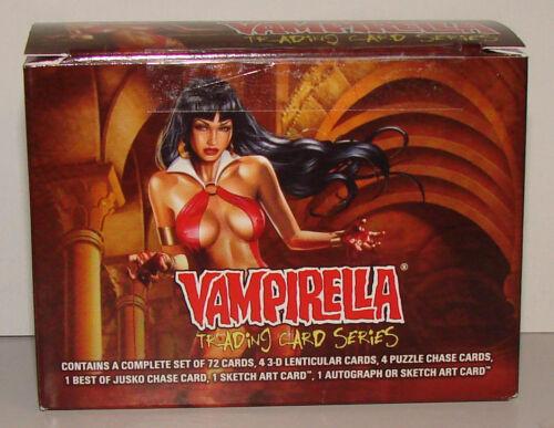 2011 Vampirella 72 Card Set and 15 card 3D Lenticular Chase set of Cards