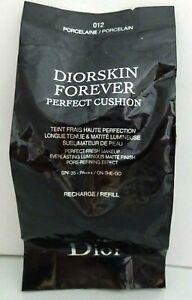 Details About Christian Dior Diorskin Forever Perfect Cushion 012 Porcelain Refill Spf 35