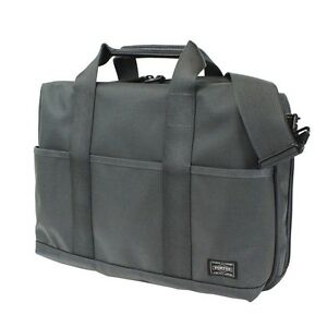 d3eea07004 New YOSHIDA PORTER STAGE 2WAY BRIEF CASE (S) 620-08285 GRAY From JP ...