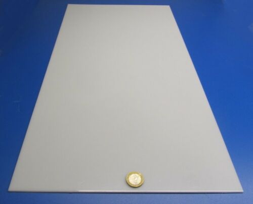 ".094/"" Thick x 12/"" W x 24/"" L Delrin Acetal Sheet White POM 3//32 2 Units"