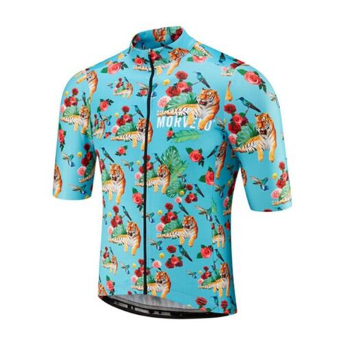 New Breathable cycling jersey Men 2019 mtb bike shirt short sleeve bicycle tops